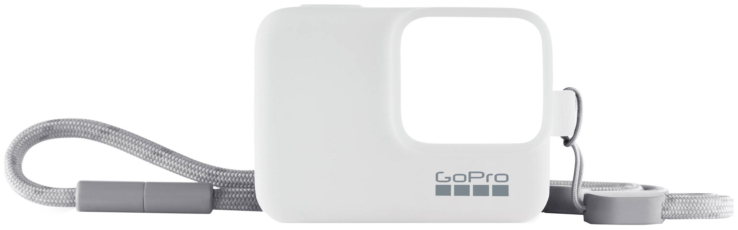 Чехол для экшн-камеры Lanyard ACSST-002, Силиконовый чехол с ремешком белый (ACSST-002)  - купить со скидкой