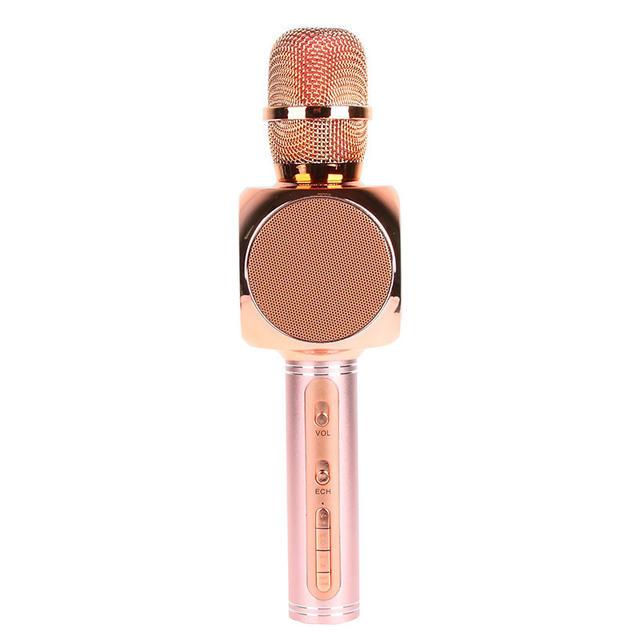 Беспроводной караоке-микрофон SY-63 Pink
