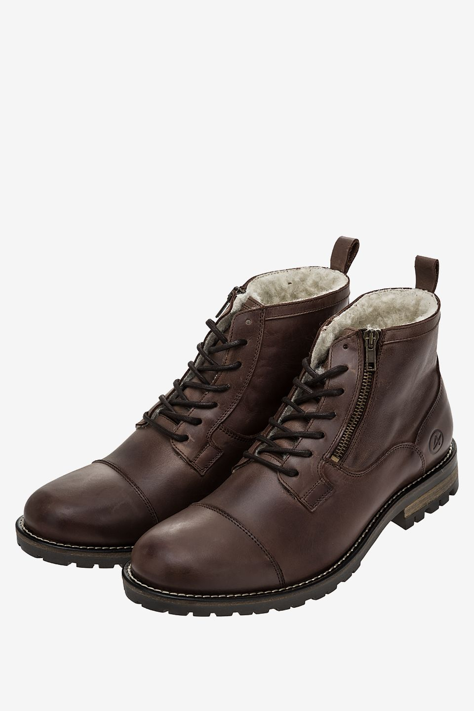 Ботинки мужские коричневые AFFEX 133-MBL-CHT-M