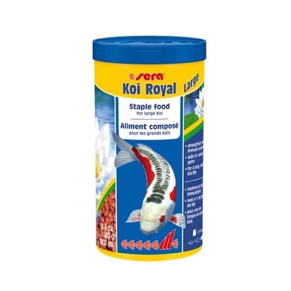 Корм для прудовых рыб Sera Koi Royal Large,