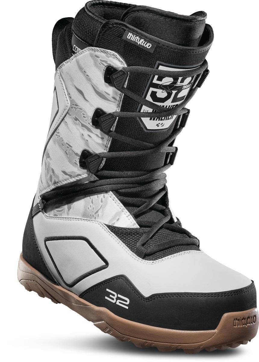 Ботинки для сноуборда ThirtyTwo Light JP 2020, white/black/gum,