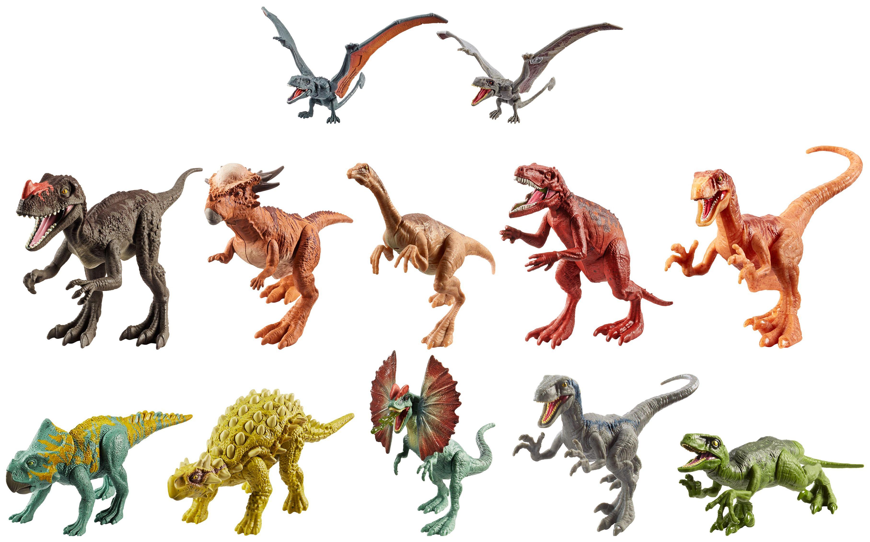 Купить Фигурка динозавра Jurassic World - Атакующая стая Mattel,