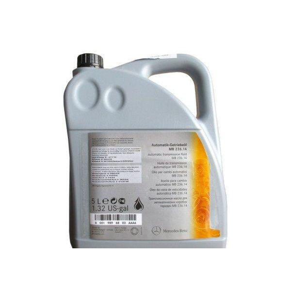 Трансмиссионное масло Mercedes-Benz для АКПП, 5л. A0029890603 11