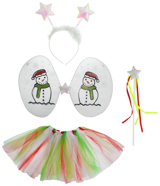 Карнавальный набор Снеговик, 4 предмета: