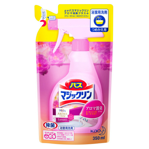 Пенящееся средство KAO Magiclean для ванной комнаты от плесени с ароматом розы 330 мл фото