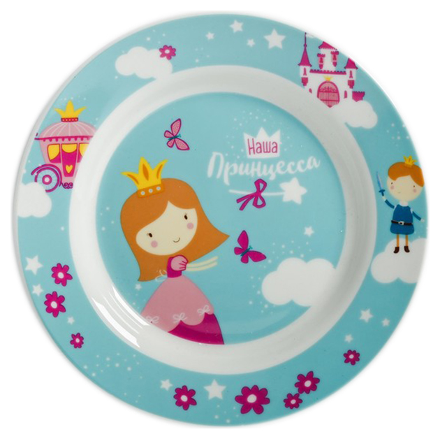 Купить Набор детской посуды Sima-Land Принцесса 4126904, Наборы детской посуды