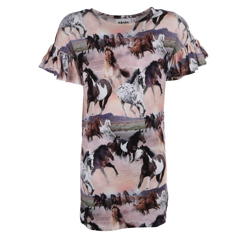 Купить Платье Coralie Molo, цв. розовый, 164 р-р, Детские платья и сарафаны