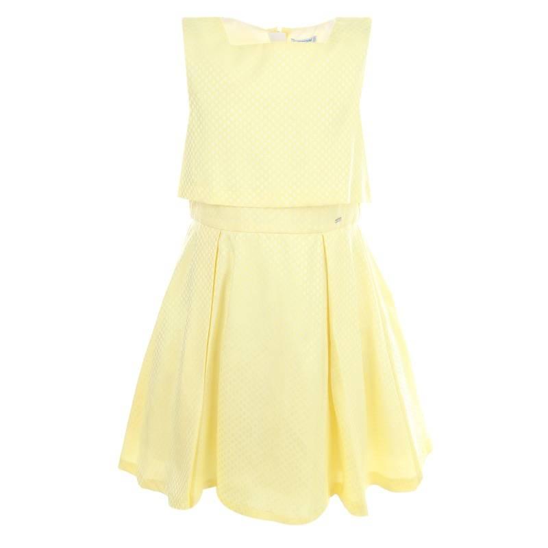 Купить 6.916/55, Платье MAYORAL, цв. желтый, 152 р-р, Платья для девочек
