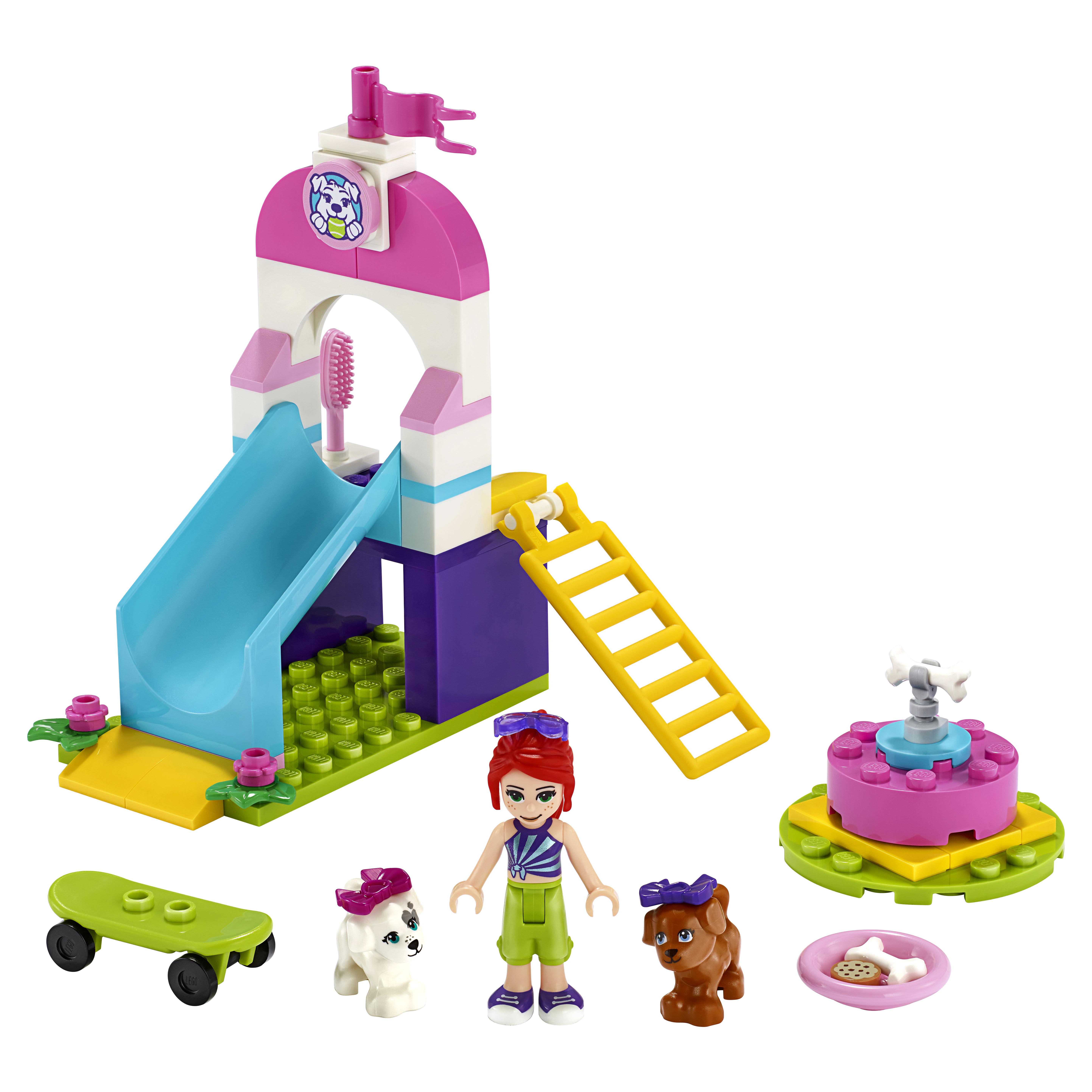 Конструктор LEGO Friends 41396 Игровая площадка для щенков фото