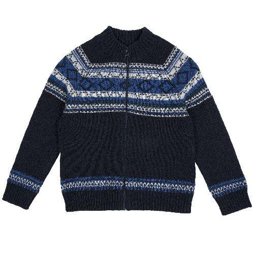 Купить Кардиган Chicco для мальчиков р.116 цв.темно-синий, Детские джемперы, кардиганы, свитшоты