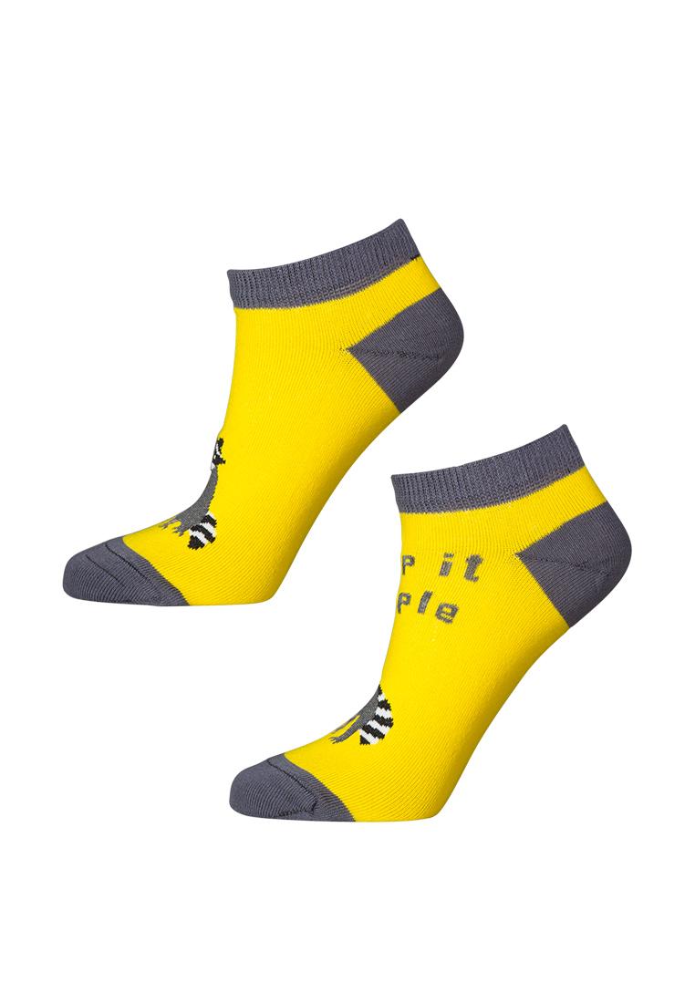 Носки женские big bang socks a1222 желтые 35-43