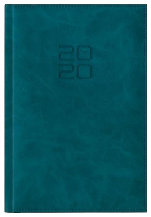 Ежедневник датированный на 2020 год Феникс+ «Зеленый», А5, 176 листов