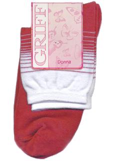 Носки женские Griff красные 35-38