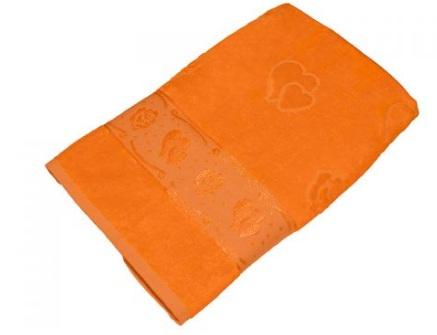 Полотенце Aisha УП-016-04 70х140 см Оранжевый