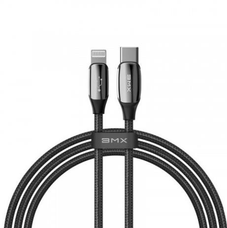 Кабель Baseus Sequins MFi certified Cable Type-C to Lightning PD 18W 1.2m Black