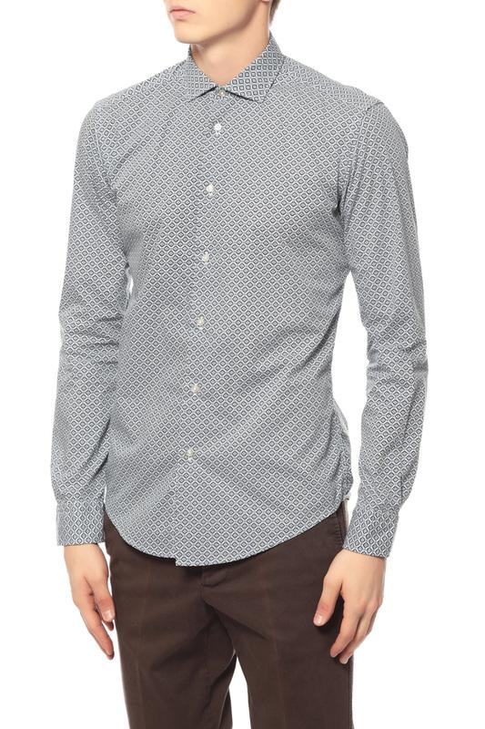 Рубашка мужская BRIAN DALES BS50W ST6964.001 голубая 42 IT