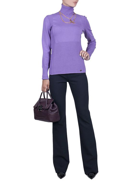 Брюки женские Versace Collection 96145 синие 44 IT