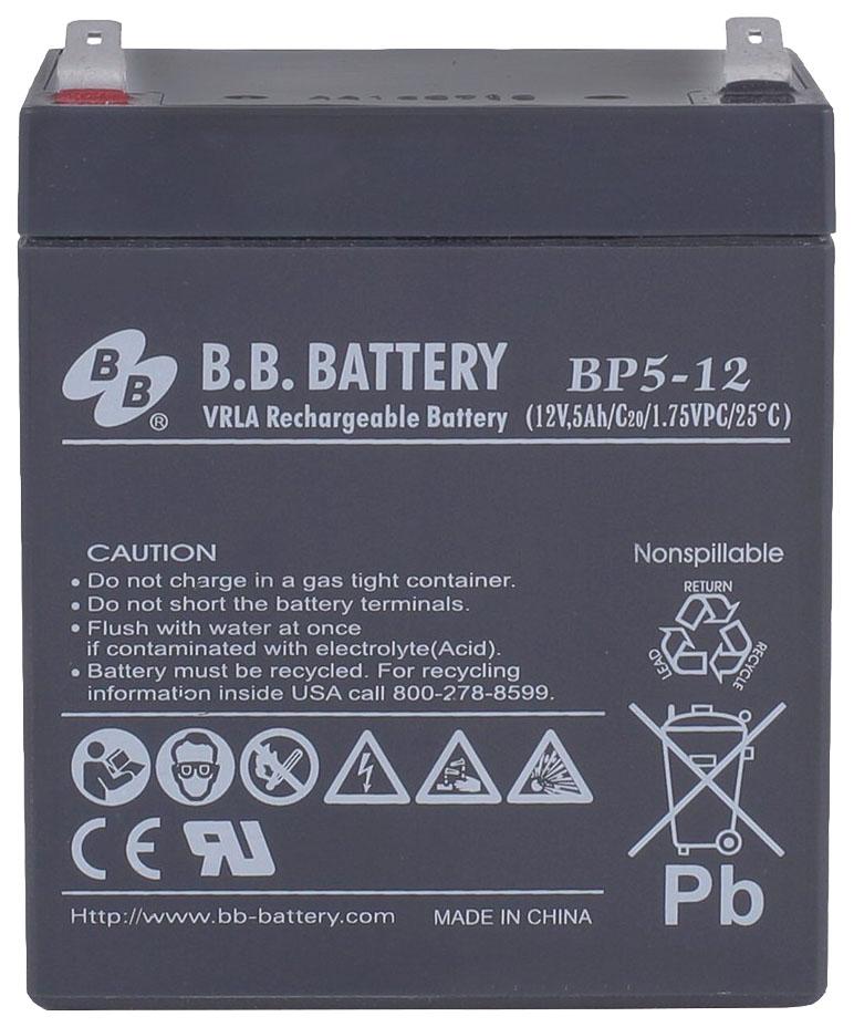 Аккумулятор для ИБП BB BP 5 12