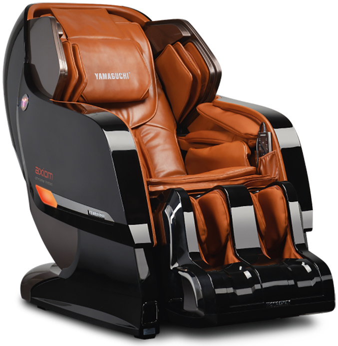 Массажное кресло Yamaguchi Axiom Chrome Limited коричнево