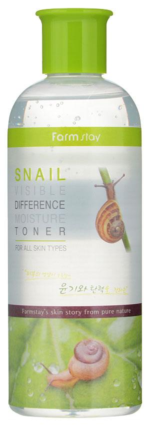 Тонер для лица FarmStay Visible Difference Moisture Toner Snail 350 мл фото