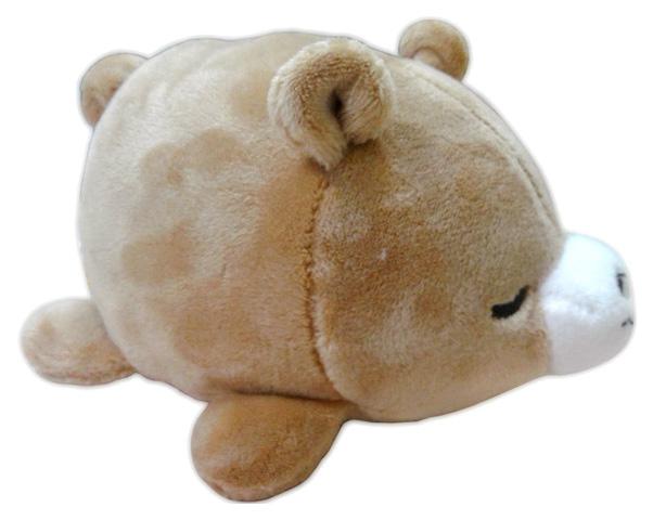 Купить Мягкая игрушка Yangzhou Kingstone Toys Медвежонок коричневый 13 см,