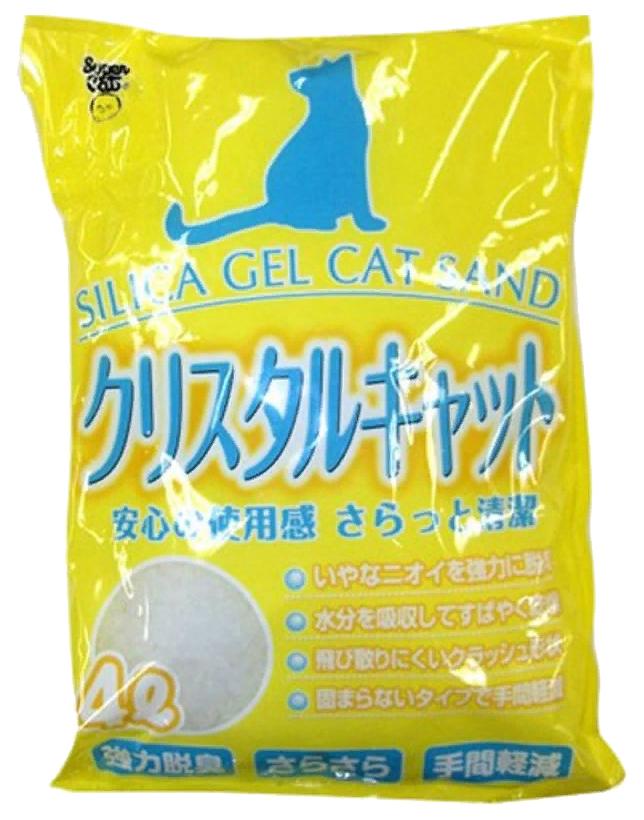 Впитывающий наполнитель для кошек Super Cat Crystal