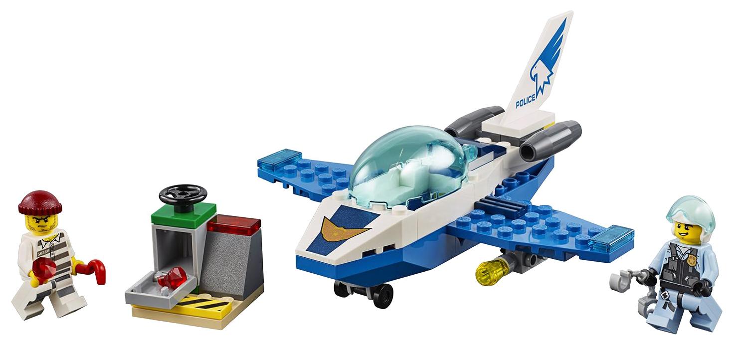 Конструктор LEGO City 60206 Воздушная полиция: патрульный