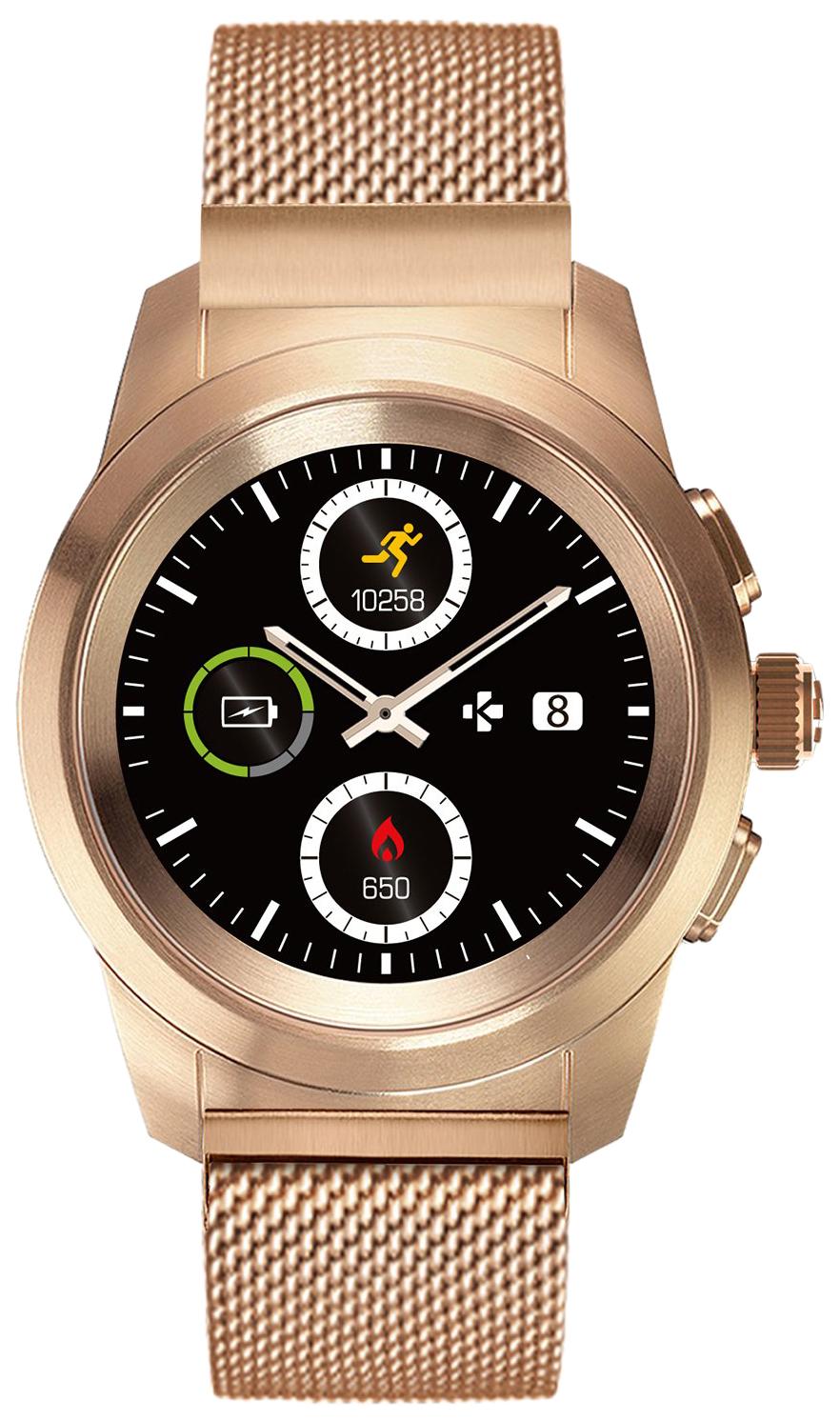 Смарт часы MyKronoz ZeTime Petite Elite Gold/Pink