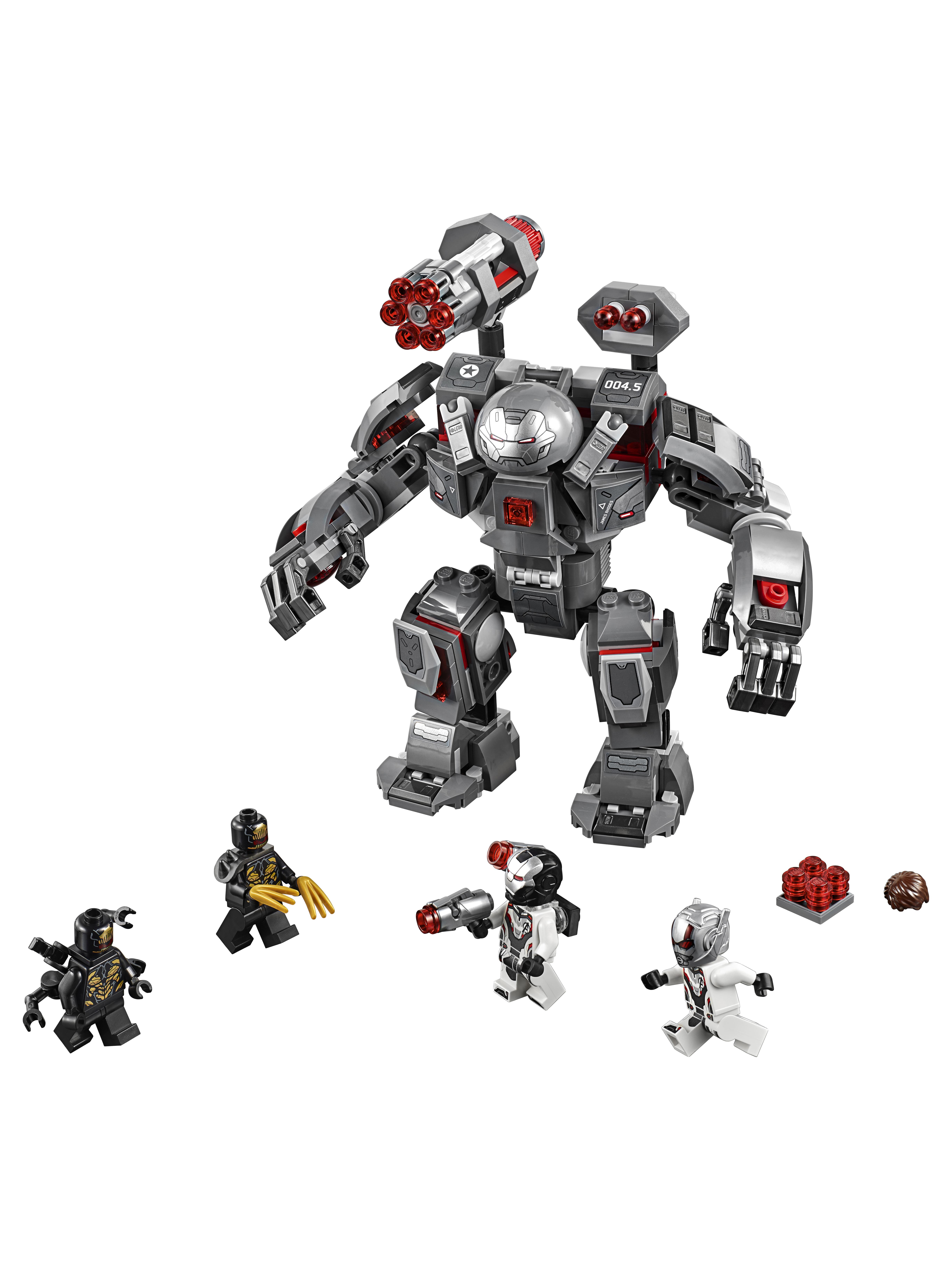 Конструктор LEGO Marvel Super Heroes 76124 Воитель
