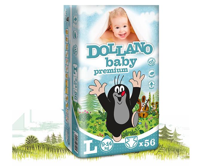 Детские подгузники Dollano Baby Premium L