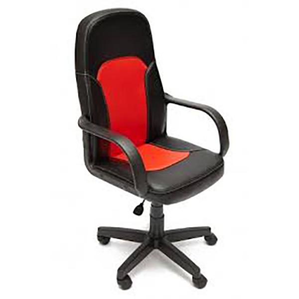 Офисное кресло TetChair Parma, красный/черный