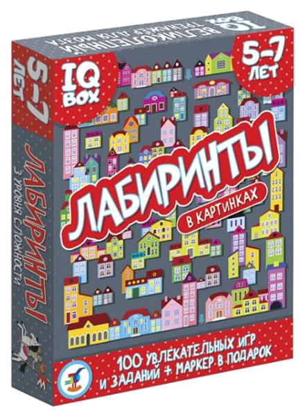 Купить Игра настольная Дрофа карточная Лабиринты. 5-7 лет 3567, Семейные настольные игры