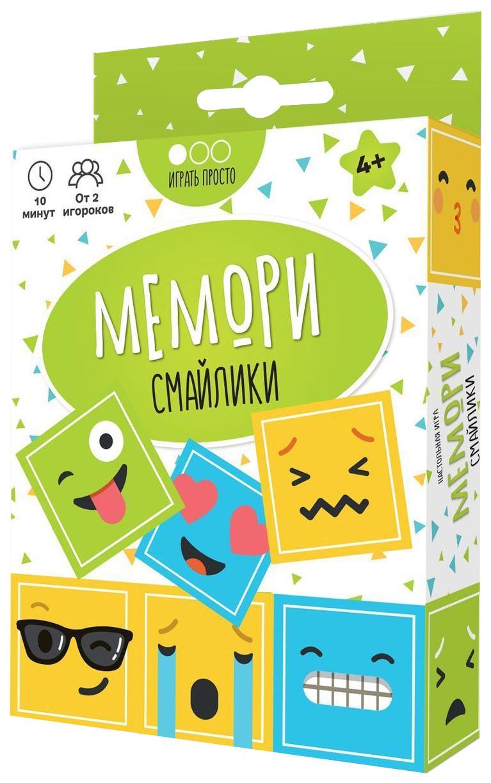 Купить Настольная игра MURAVEY GAMES ТК003 Мемори Смайлики,