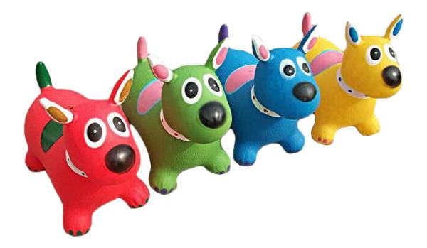 Купить Каталка детская Наша игрушка Собачка-попрыгунчик в ассортименте, Каталки детские