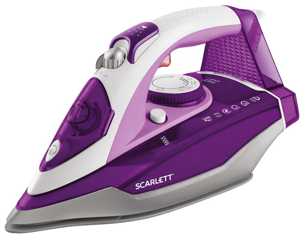 Утюг Scarlett SC SI30K36 Фиолетовый, белый