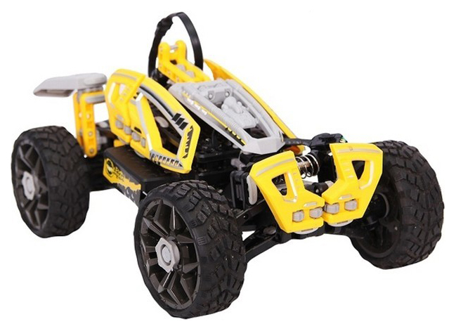 Купить Радиоуправляемая машинка-конструктор SDL Racers Dirt Crusher Желтый, Радиоуправляемые машинки