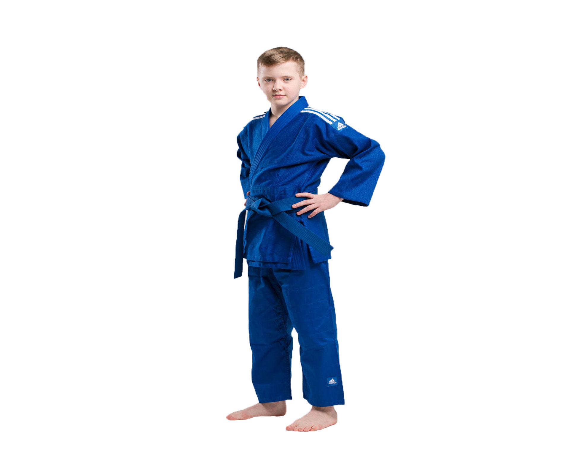 Кимоно для дзюдо Adidas с поясом подростковое