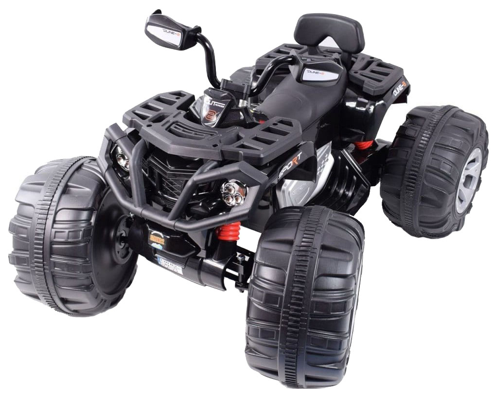 Купить Детский электромобиль квадроцикл Jiajia на аккумуляторе 12V JS3188 Черный, Электромобили