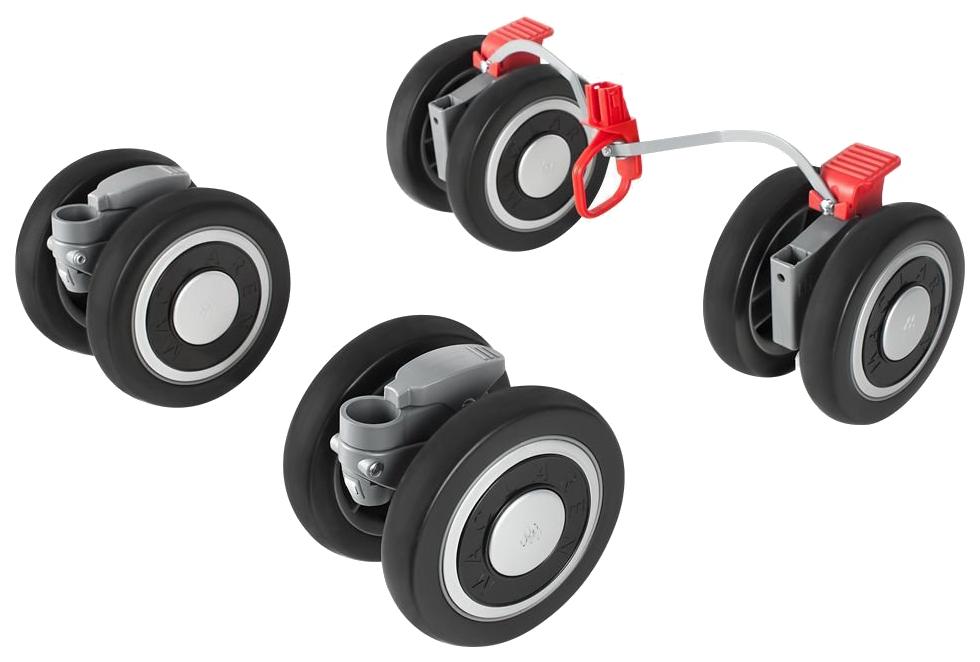 Купить Комплект колес для коляски Maclaren Techno XT Black/Silver 2016-2017, Запчасти для колясок