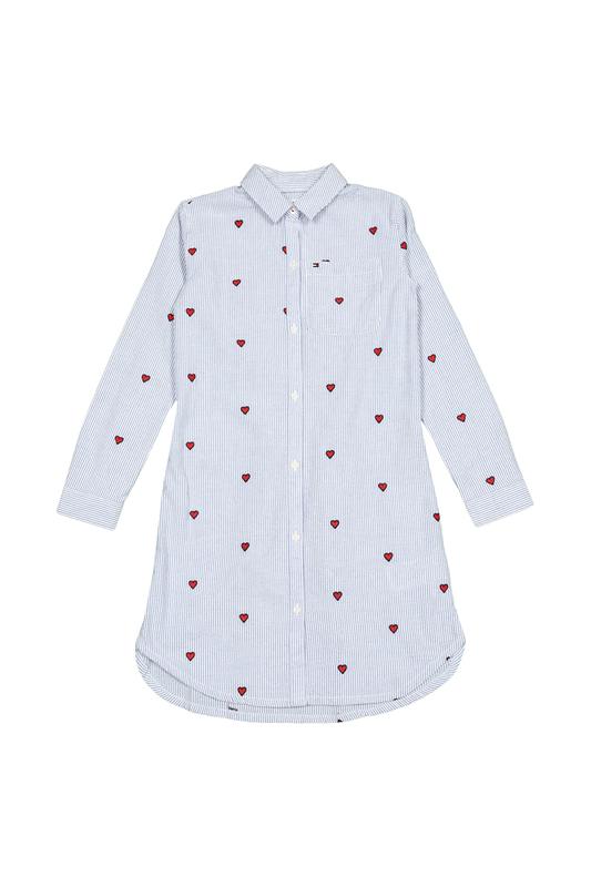Купить KG0KG04277/123, Платье Tommy Hilfiger, цв. белый, 140 р-р., Детские платья и сарафаны