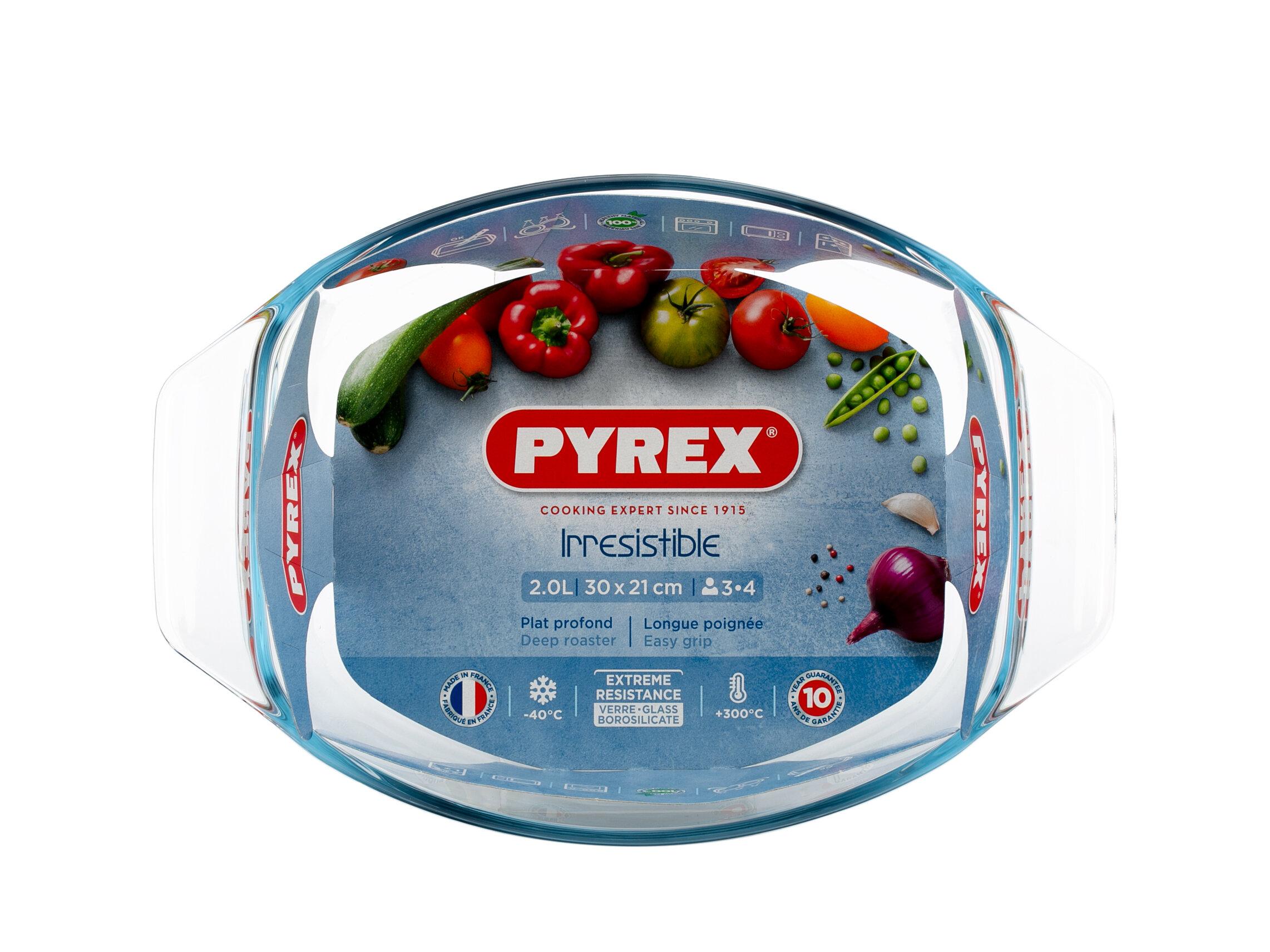 Блюдо Pyrex Optimum овальное 30 х
