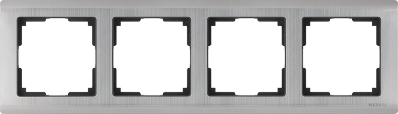Рамка для выключателя Werkel WL02-Frame-04 a028862 глянцевый никель
