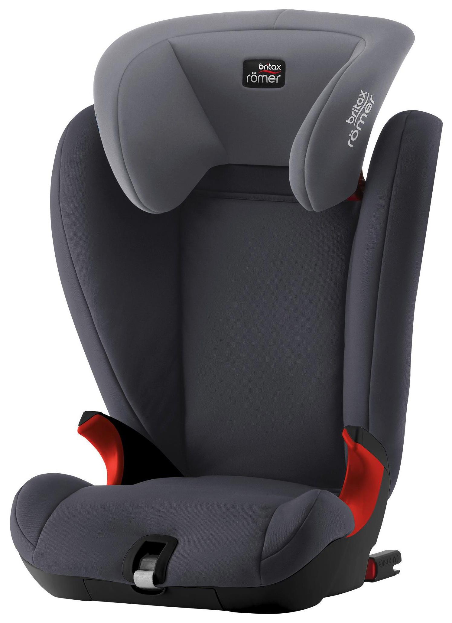Детское Автокресло Britax Romer Kidfix Sl - Black Series Storm Grey
