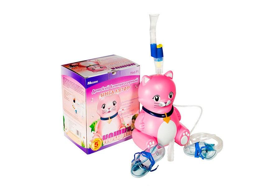 Ингалятор MED2000 Кошка компрессорный детский
