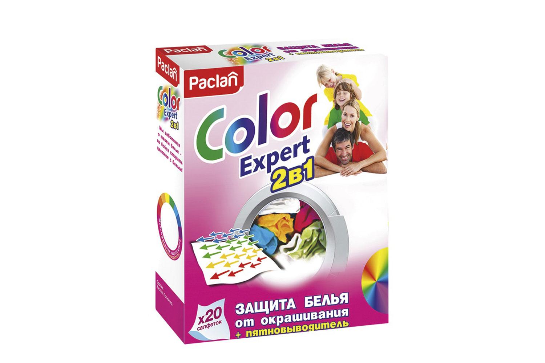 Салфетки от окрашивания Paclan Color Expert