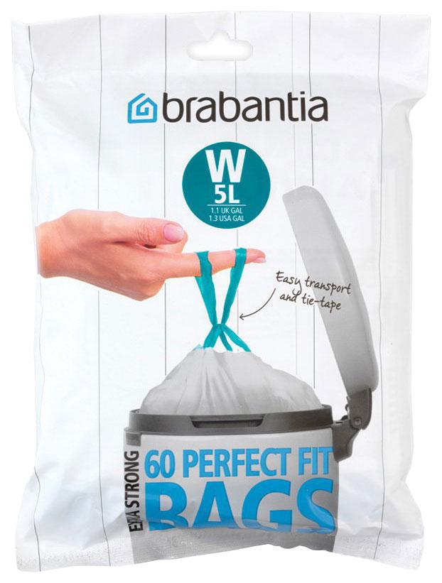 Пакет пластиковый Brabantia 5 л 60 шт