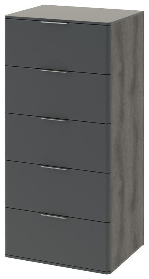 Комод Hoff 121,5х60х48 см, серый