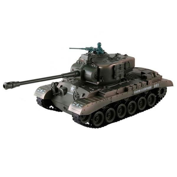 Радиоуправляемый танк Pilotage M26 1:18 пневмопушка (RC18396)