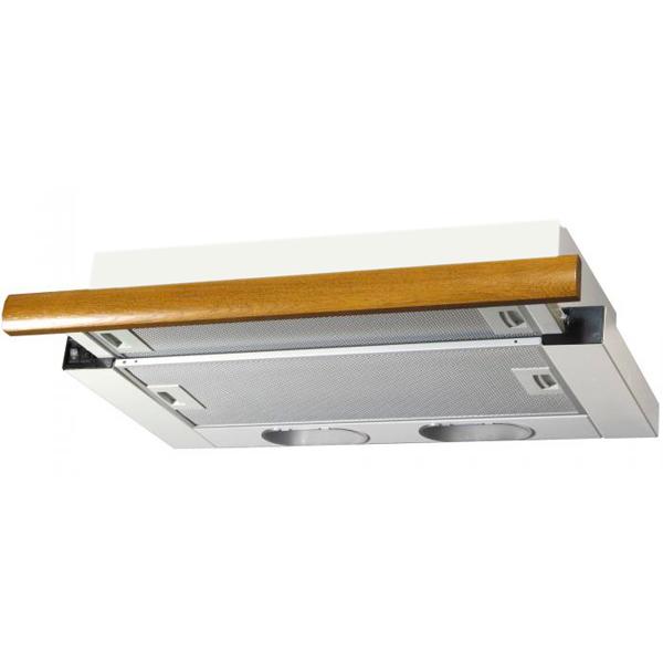 Вытяжка встраиваемая Elikor Интегра 60П-400-В2Л White/Brown