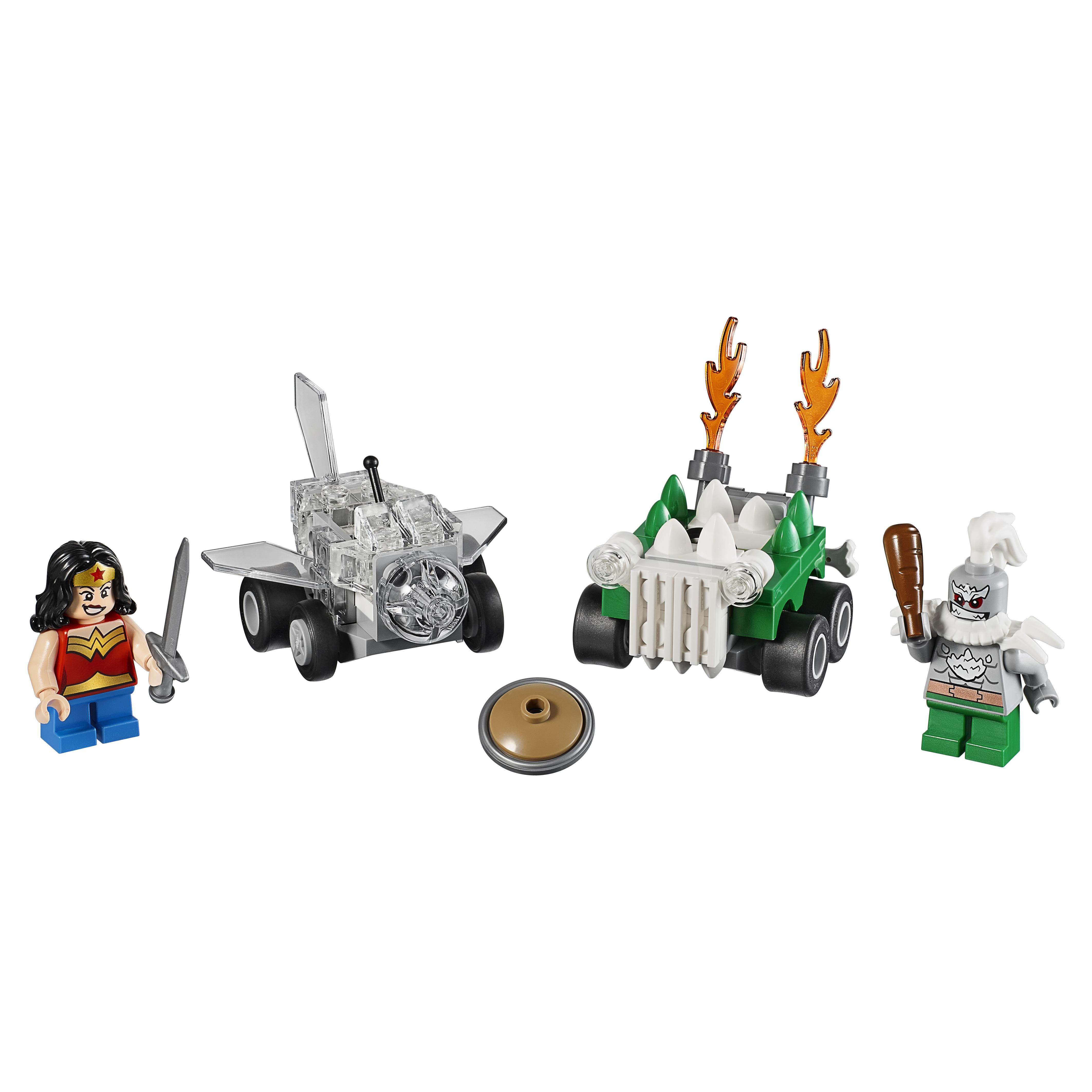 Купить Конструктор LEGO Super Heroes Mighty Micros: Чудо-женщина против Думсдэя (76070)